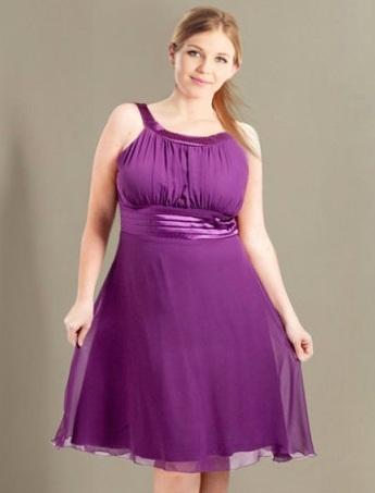 Vestidos de fiesta para mujeres obesas