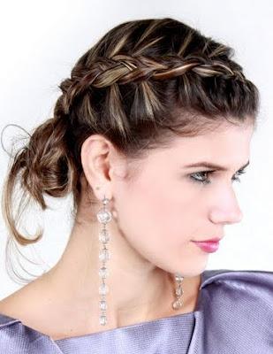 peinados con trenzas la tendencia de moda