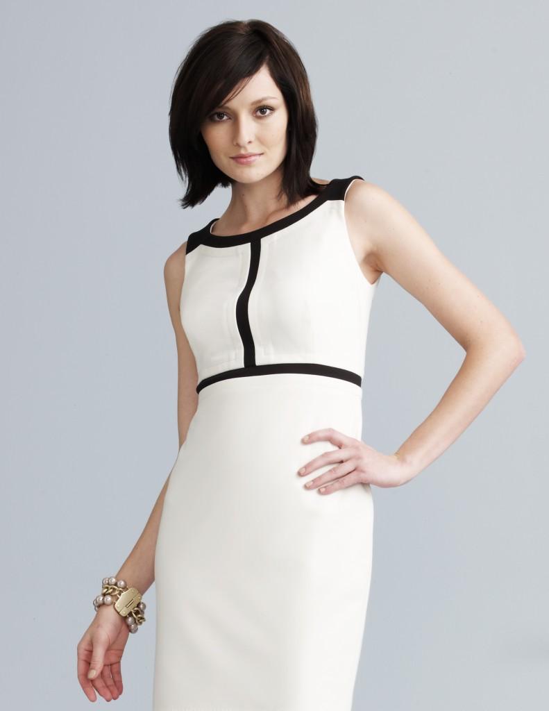 Vestidos blancos y negro