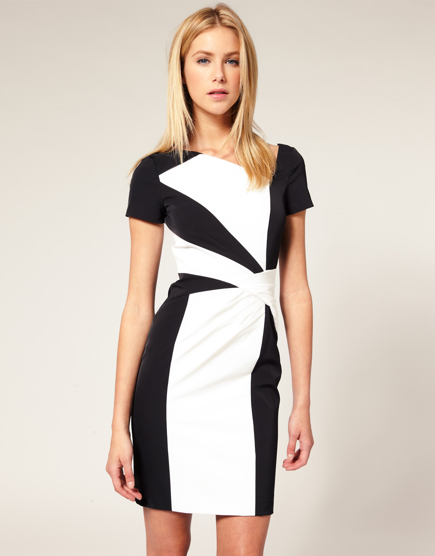 Combinaci n blanco negro archives mujer chic - Blanco y negro ...