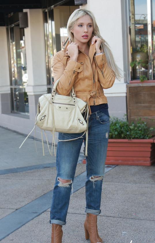 cuero-jeans