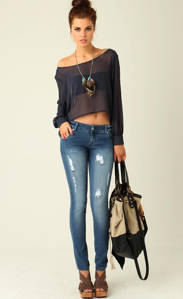 Modelos En Jeans Archives Mujer Chic