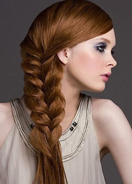 прически на длинные густые прямые волосы своими руками косы