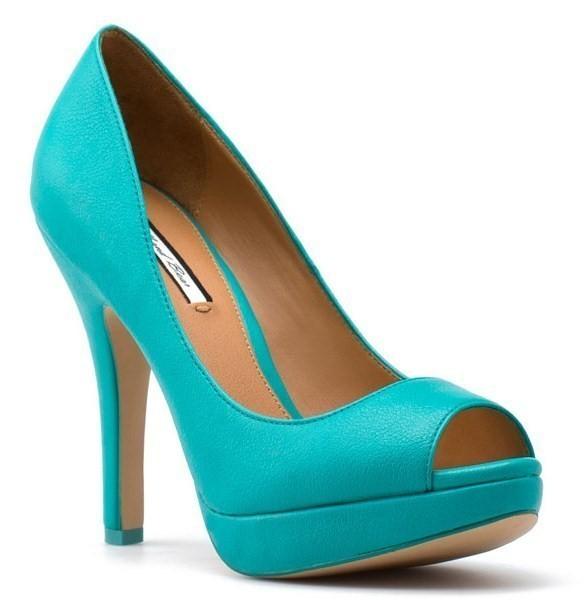 Zapatos azul turquesa  9