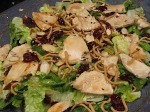 asian-chicken-sesame-salad-with-craisins
