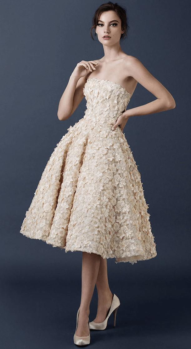 vestido de fiesta corto-j