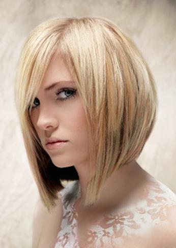 Cortes de cabello de mujer asimetricos