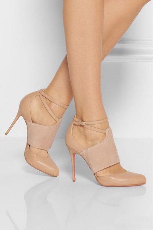 zapatos taco fino