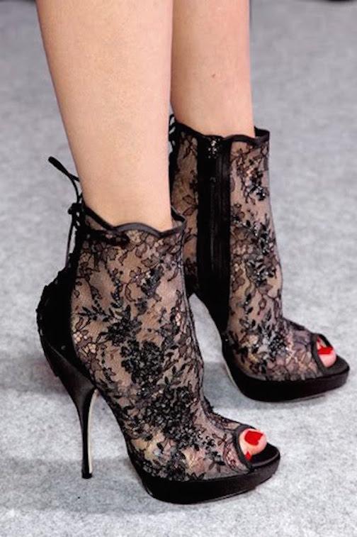 Zapatos de encaje--1