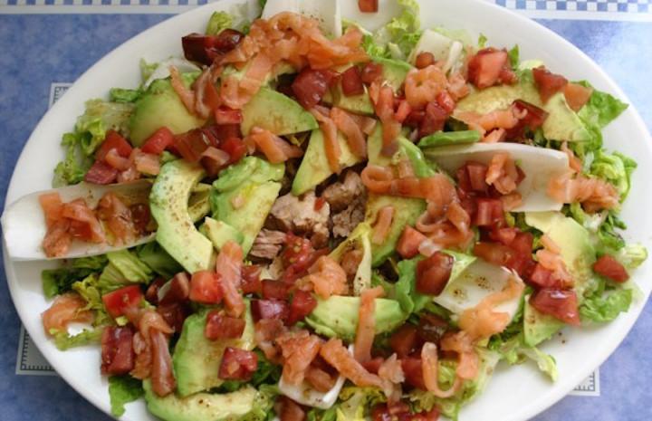 Recetas de ensaladas completas y con pocas calor as para - Ensaladas con pocas calorias ...