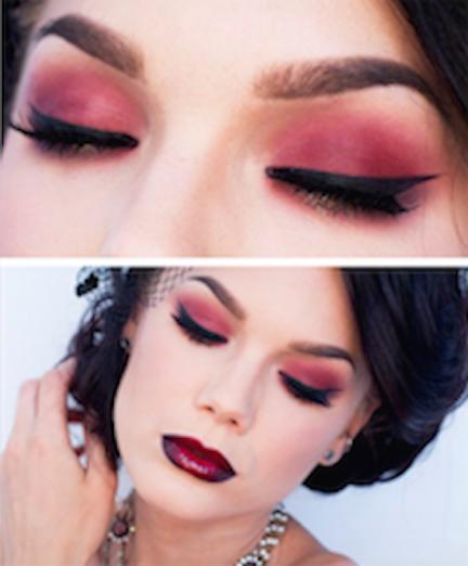 maquillaje color vino-2