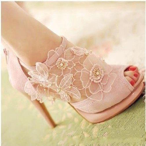 zapatos de encaje-b