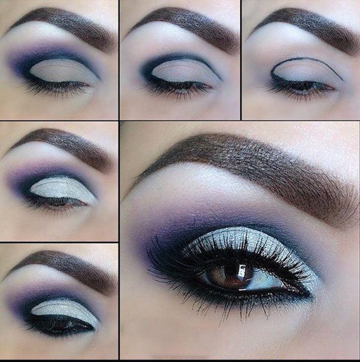 tutorial maquillaje-azul