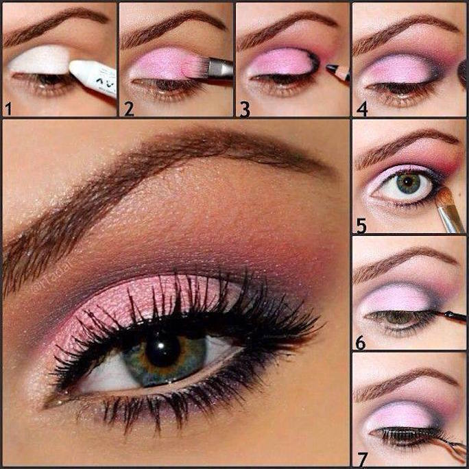 tutorial maquillaje-rosado