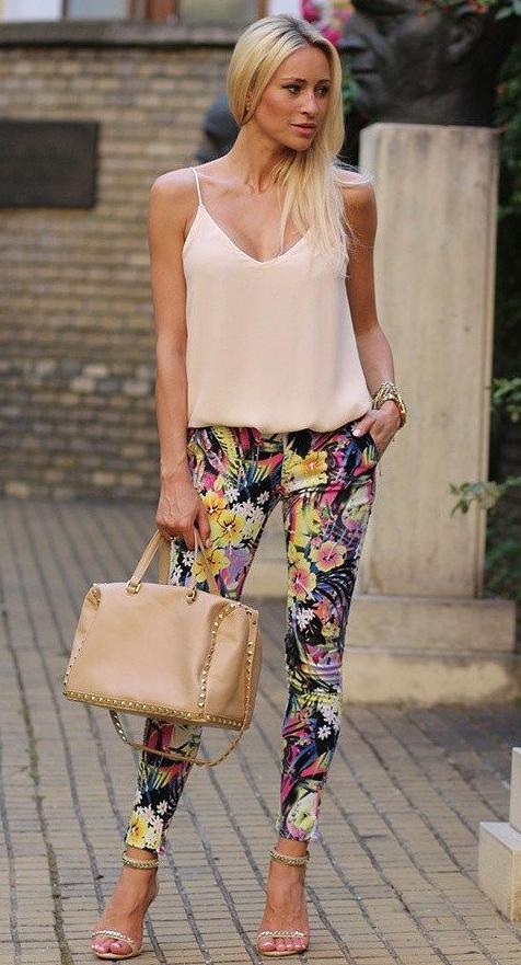 pantaloes de flores-n