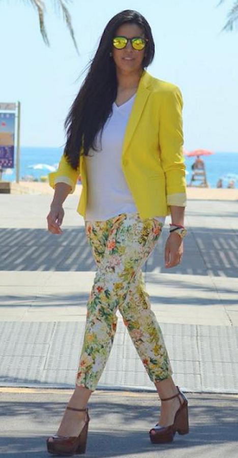 pantalones de flores-m