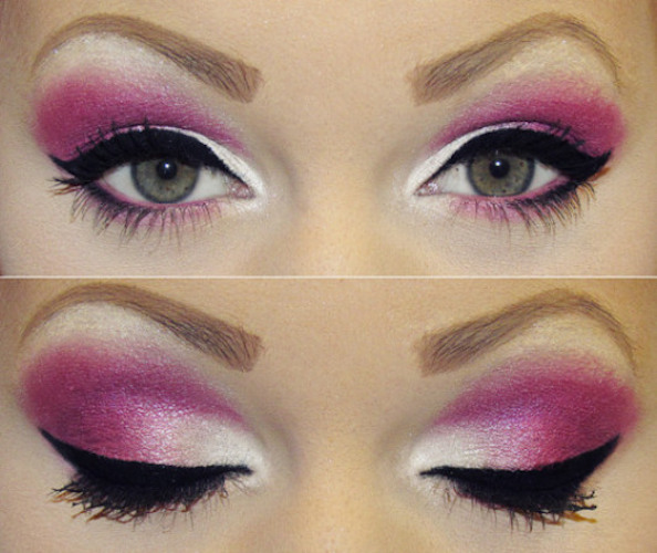 sombra rosada