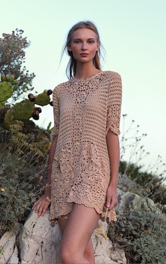 Crochet El Tejido De Moda Mujer Chic