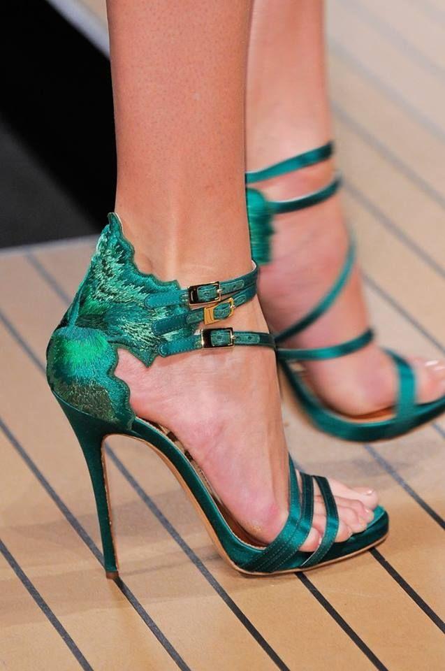 zapatos vrdes de tacon-0