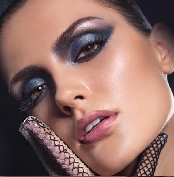 maquillaje de noche-a