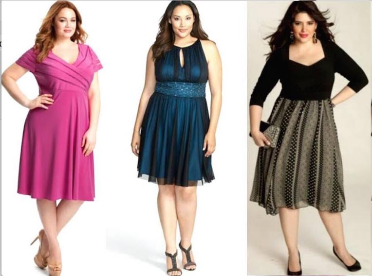 1187ccee3 Vestidos cortos de noche para personas con sobrepeso - Mujer Chic