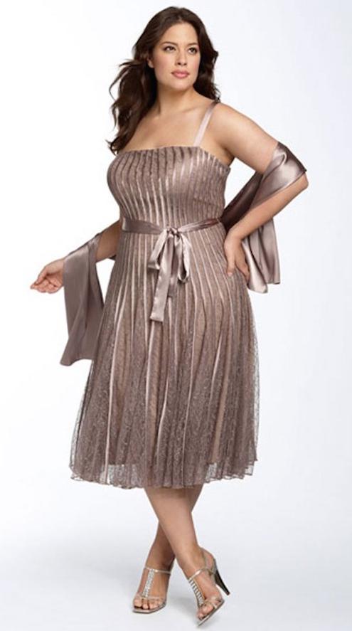 vestidos talla grande-d