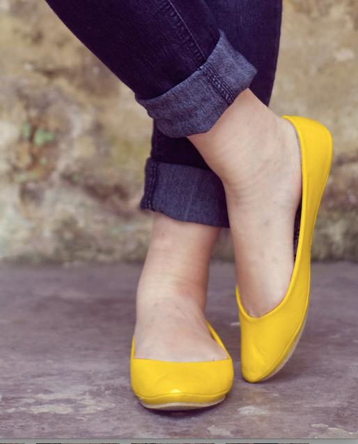 zapatos amarillos-n