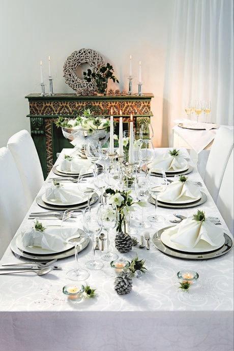 como servir una mesa