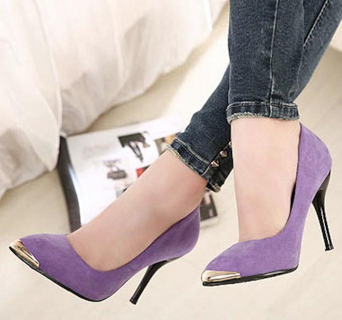 zapatos morados- d