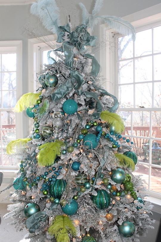 navidad blanco y dorado arbol de navidad