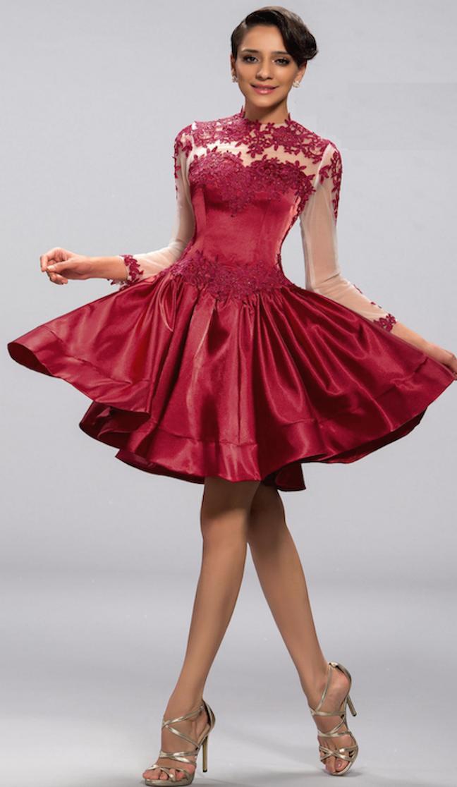 vestido corto de fiesta-22