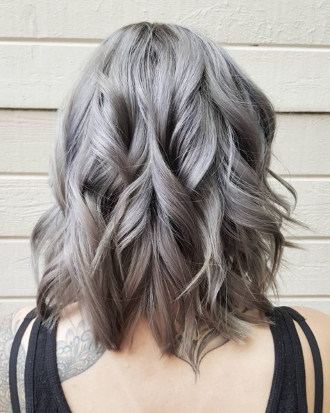 pelo,corto Shoulder,Length,Wavy,Hairstyle,for,Grey,Hair pelo_gris_3