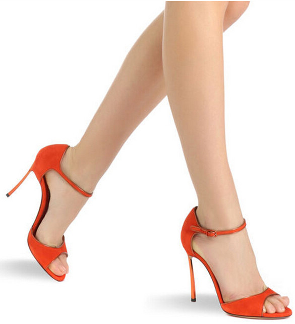 Summer-shoes-woman-fashion-elegant-font-b-orange-b-font-high-heel-font-b-sandals-b