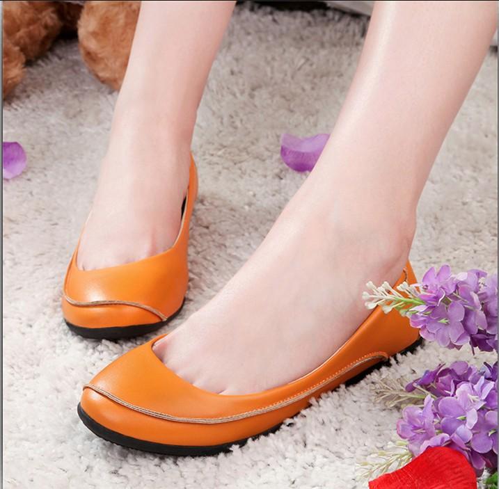 Zapatos-naranjas-de-moda-1