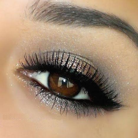 maquillaje de ojos marrones-t