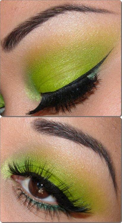 maquillaje verde-m