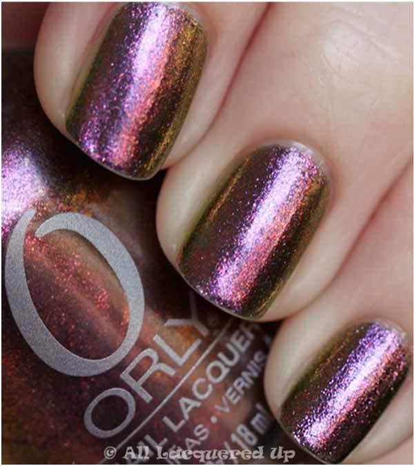 uñas color ciruela-nail-polish