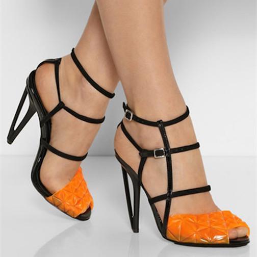 zapatos de dos colores