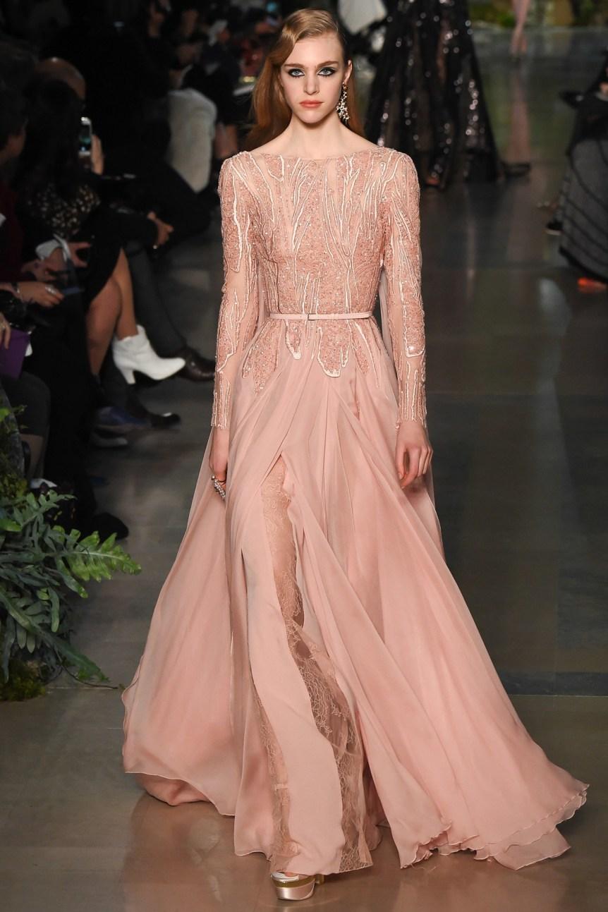 color rosa cuarzo-Elie Saab