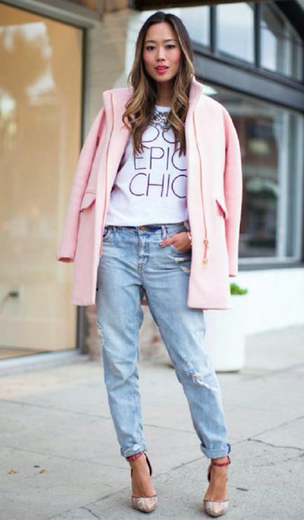 ropa rosada
