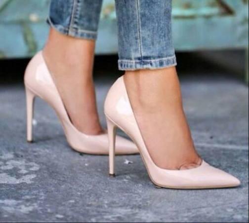 zapatos rosa cuarzo