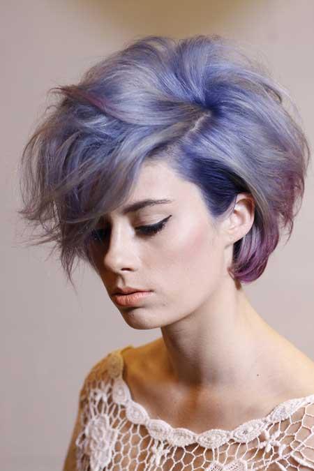 Purple-short-hair