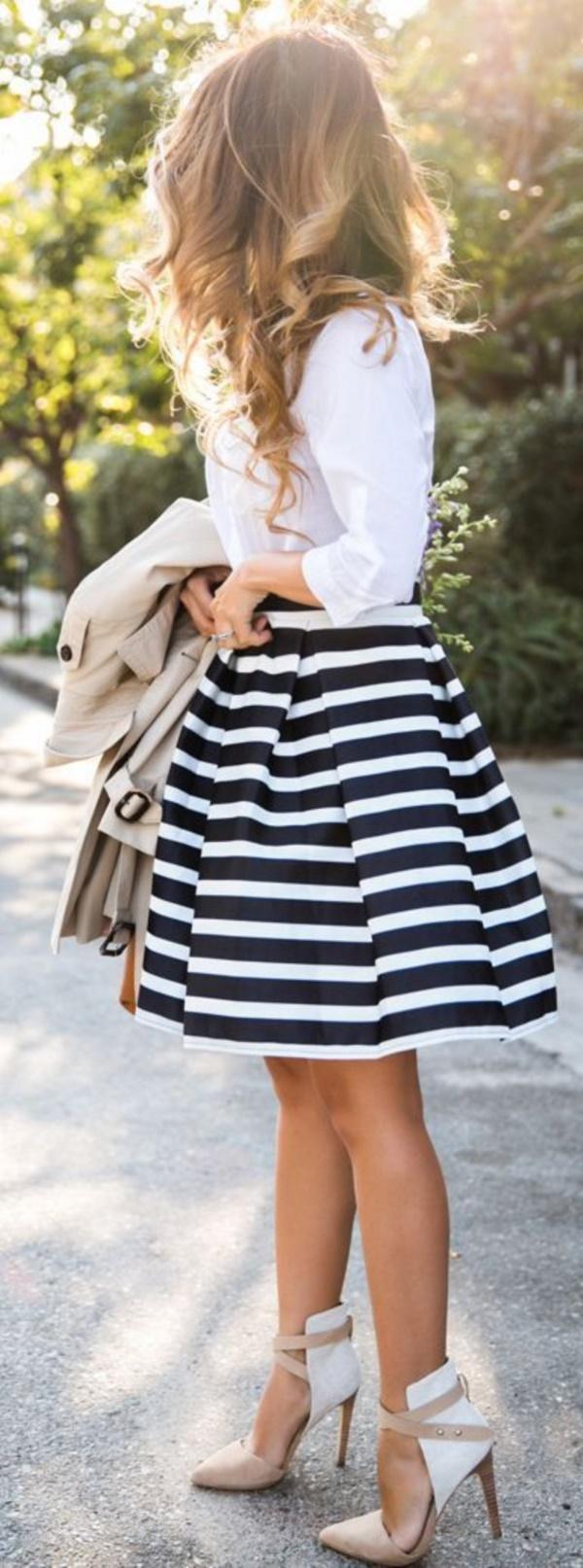 falda ancha