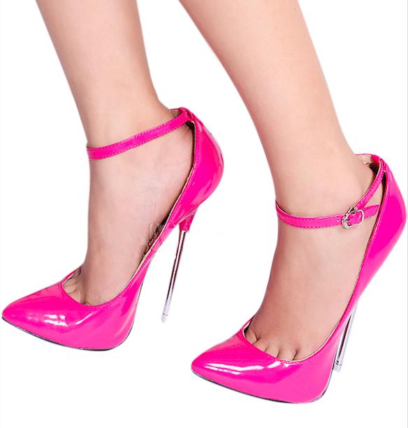zapatos fucsias