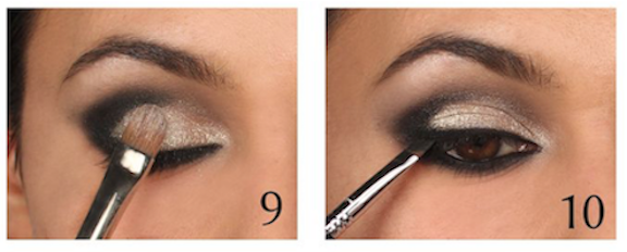 maquillaje con sombra gris-5
