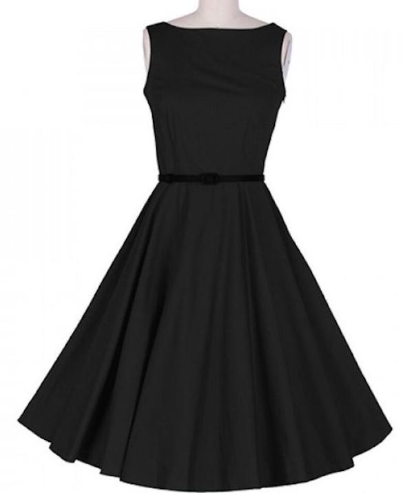 vestido negro-a