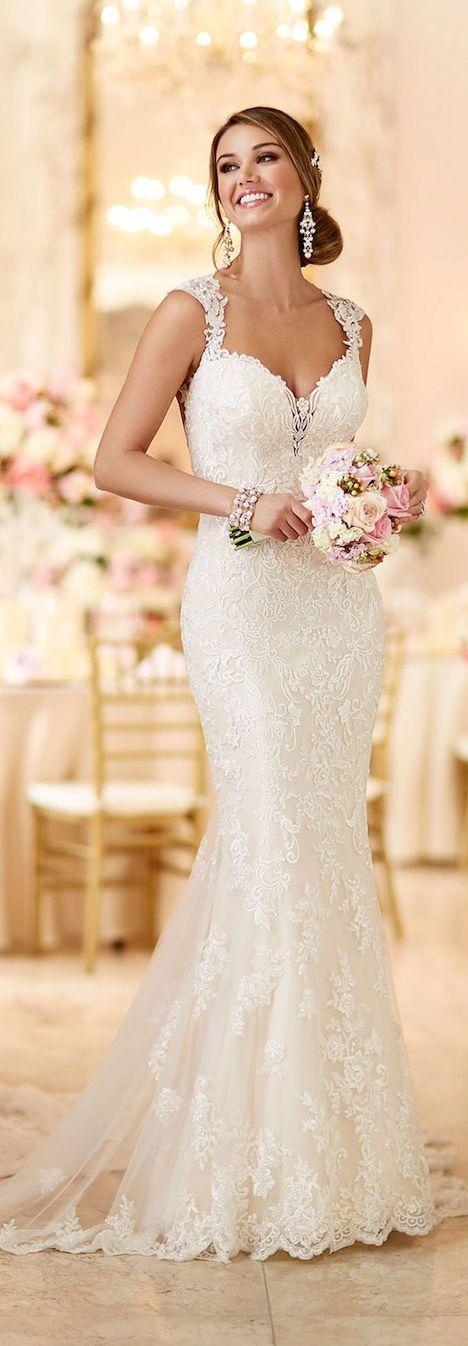 45 vestidos de novias para lucir hermosa - mujer chic