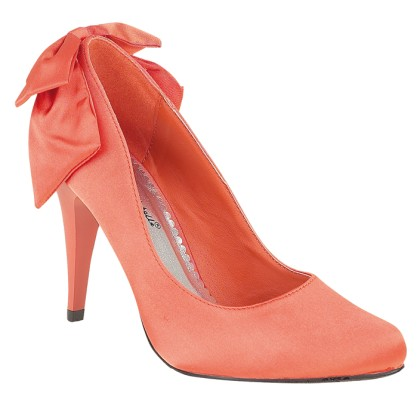 primer nivel 1dc34 7a110 zapatos color coral-n - Mujer Chic
