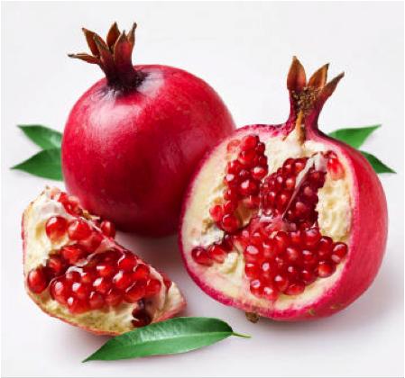 granada-fruta