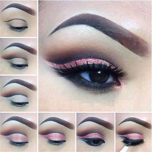 tutorial sombra rosada